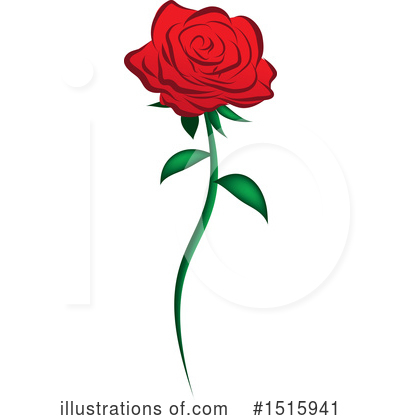 Rose Clipart #1515941 by Vitmary Rodriguez