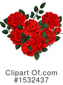 Rose Clipart #1532437 by Vector Tradition SM
