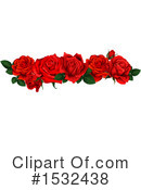 Rose Clipart #1532438 by Vector Tradition SM