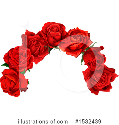 Rose Clipart #1532439 by Vector Tradition SM