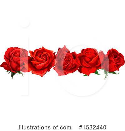 Rose Clipart #1532440 by Vector Tradition SM