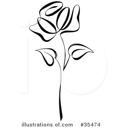rose clipart 35474 illustration by c charley franzwa rh illustrationsof com rose clipart free download red rose clipart free