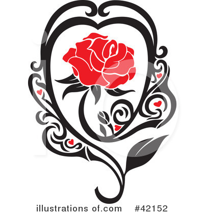 Floral Clipart #42152 by Cherie Reve