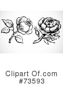 Rose Clipart #73593 by BestVector