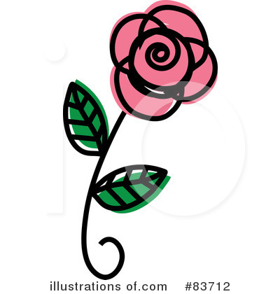 Rose Clipart #83712 by Rosie Piter