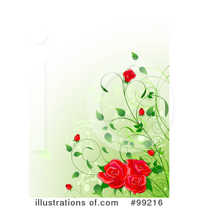 Roses Clipart #99216 by Pushkin