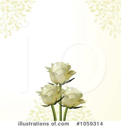Royalty-Free (RF) Roses Clipart Illustration by elaineitalia - Stock Sample #1059314