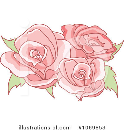 Roses Clipart #1069853 by Pushkin