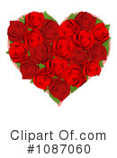 Royalty-Free (RF) roses Clipart Illustration #1087060