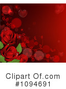 Royalty-Free (RF) roses Clipart Illustration #1094691