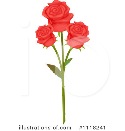 Roses Clipart #1118241 by Graphics RF