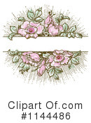 Royalty-Free (RF) Roses Clipart Illustration #1144486
