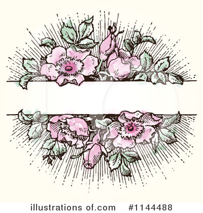 Roses Clipart #1144488 by BestVector