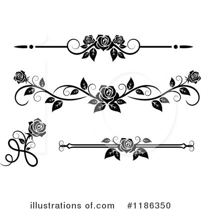 Rose Clipart #1186350 by Vector Tradition SM