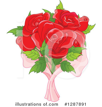 Rose Clipart #1287891 by Pushkin