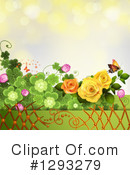 Roses Clipart #1293279 by merlinul