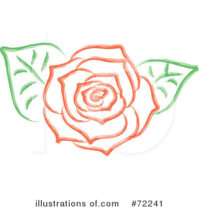 Rose Clipart #72241 by Rosie Piter