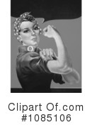 Rosie The Riveter Clipart #1085106 by JVPD