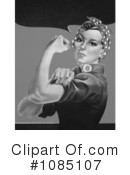 Rosie The Riveter Clipart #1085107 by JVPD