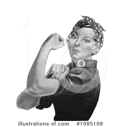 Rosie The Riveter Clipart #1085108 by JVPD