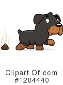 Rottweiler Clipart #1204440 by Cory Thoman