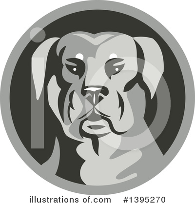 Guard Dog Clipart #1395270 by patrimonio