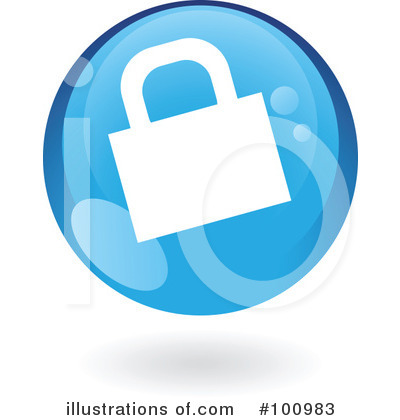 Round Blue Icon Clipart #100983 by cidepix