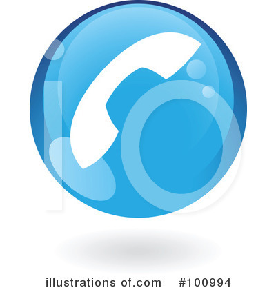 Round Blue Icon Clipart #100994 by cidepix