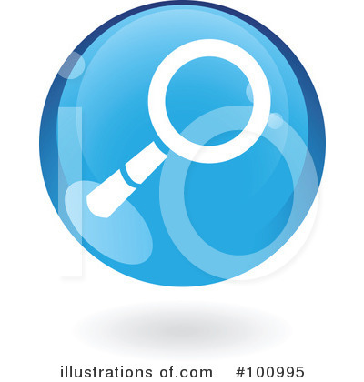 Round Blue Icon Clipart #100995 by cidepix