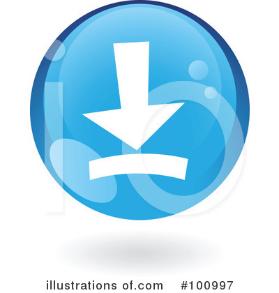 Round Blue Icon Clipart #100997 by cidepix