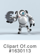 Round Robot Clipart #1630113 by Julos