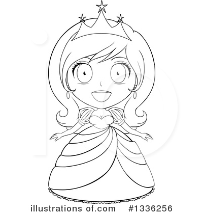 Princess Clipart #1336256 by Liron Peer