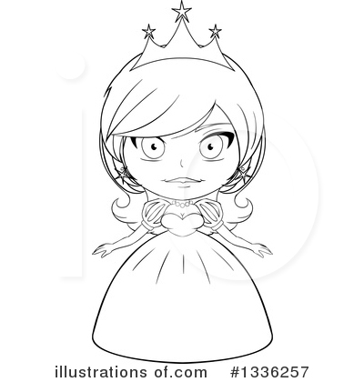 Princess Clipart #1336257 by Liron Peer
