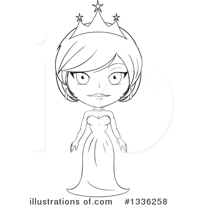 Princess Clipart #1336258 by Liron Peer