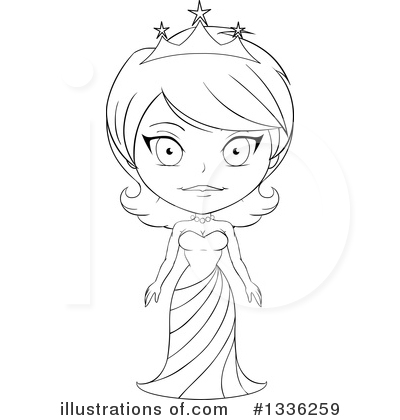 Princess Clipart #1336259 by Liron Peer