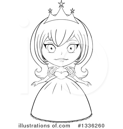 Princess Clipart #1336260 by Liron Peer