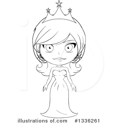 Princess Clipart #1336261 by Liron Peer