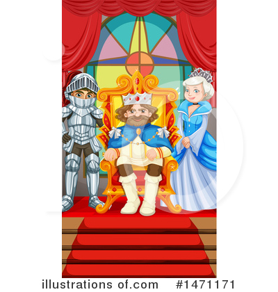 King Clipart #1471171 by Graphics RF