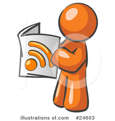 Rss Clipart #24603 by Leo Blanchette