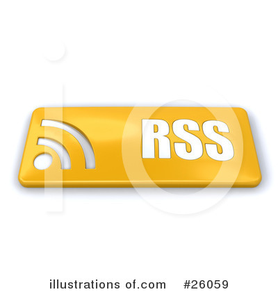 Rss Clipart #26059 by KJ Pargeter