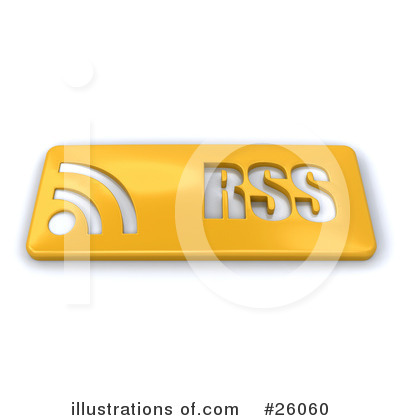 Rss Clipart #26060 by KJ Pargeter