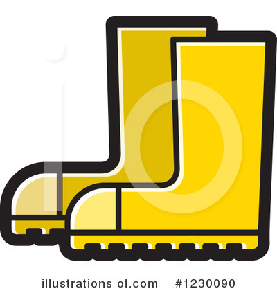 Boot Clipart #1230090 by Lal Perera