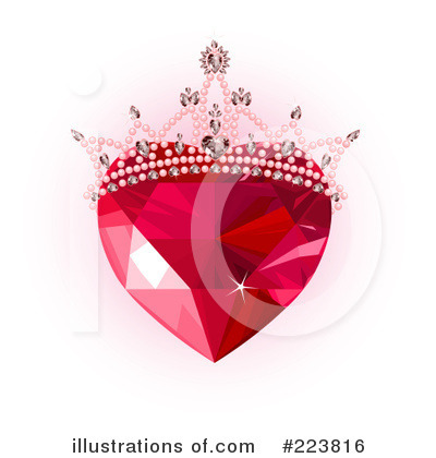 Ruby Heart Clipart #223816 by Pushkin