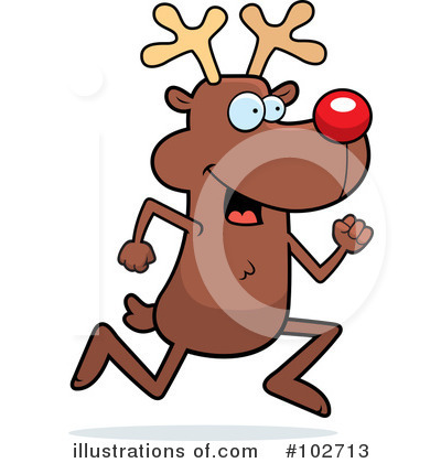 Rudolph Clipart #102713 by Cory Thoman