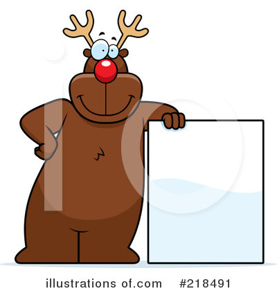 Rudolph Clipart #218491 by Cory Thoman