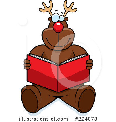 Rudolph Clipart #224073 by Cory Thoman