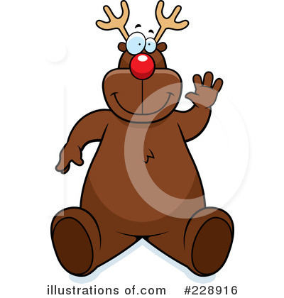 Rudolph Clipart #228916 by Cory Thoman