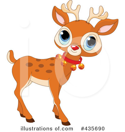 Reindeer Clipart #435690 by Pushkin