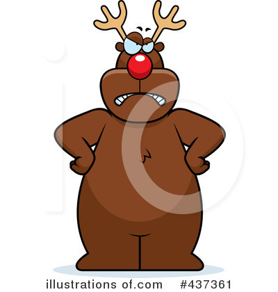 Rudolph Clipart #437361 by Cory Thoman