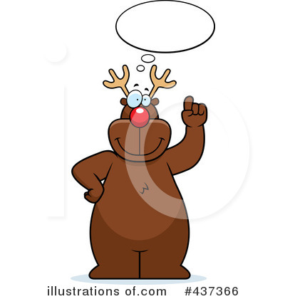 Rudolph Clipart #437366 by Cory Thoman